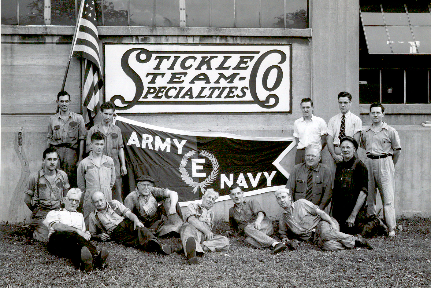 Stickel Steam 1940s